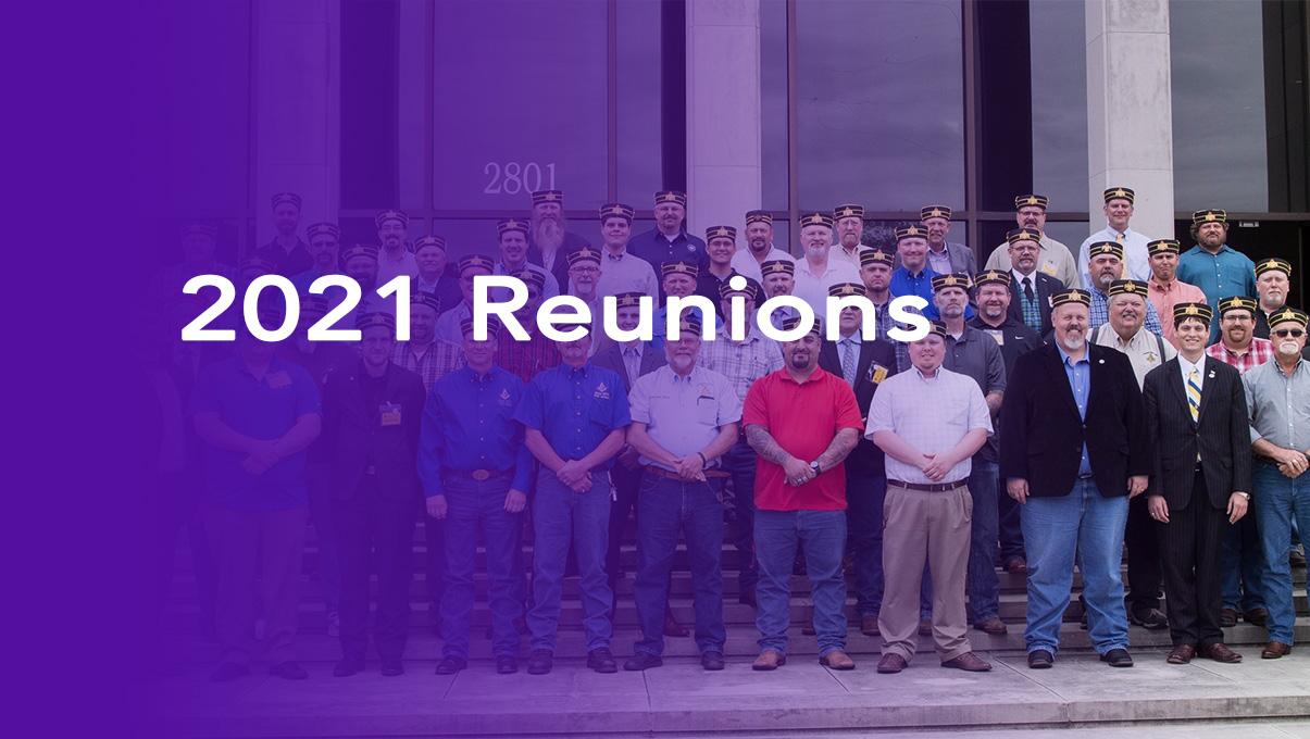 2021 Reunions